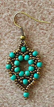 Linda's Crafty Inspirations: Arula Earrings - Tweaks and Variations