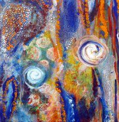 L'Exploration Painting Winner Blue Water