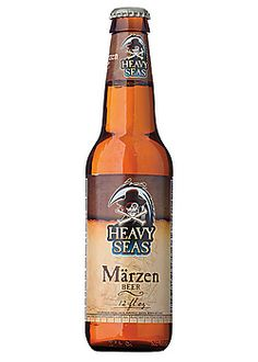 Heavy Seas Märzen from the nautically-themed Clipper City Brewing Company in Maryland. #Oktoberfest