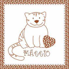 Teddy & Co.: stitch calendar  MAY