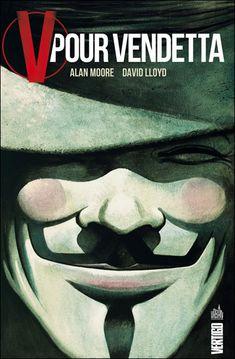 V pour Vendetta, comics chez Urban Comics de Moore, Lloyd V For Vendetta Book, V Pour Vendetta, Alan Moore Comics, Comic Shop, Dc Comics, English Novels, Roman, Time Warner, Science Fiction Books
