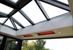 Luminus lichtstraat, ook in uw veranda toe te passen. www.luminusdak.nl een product van Serbo Serres Nederland (www.serbo.nl)
