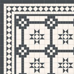 Victorian and Contemporary Geometric Floor Tile Designs Victorian Hallway, Victorian Front Doors, Victorian Bathroom, Stone Mosaic Tile, Mosaic Tiles, Floor Patterns, Tile Patterns, Staircase Outdoor, Staircase Ideas