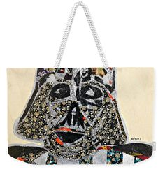 Darth Vader Afrofuturist Weekender Tote  Artwork by Apanaki Temitayo M  Shop Apanaki Designs IG