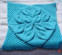 Ravelry: Pram Cover/Rug with Embossed Leaves pattern by Patons Australia free pattern
