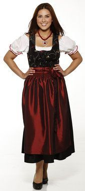 Plus size dirndl dress 0 petite