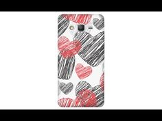 Чехол-накладка U-Print Black Love на цветных телефонах