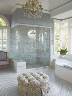 BATHROOM DESIGN: TURN YOUR BATHROOM INTO A SPA WITH MR. STEAM