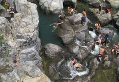 At Johnson's Shut-Ins, a Missouri state park two hours from St. Louis, water cascades over jagged rocks, forming hundreds of tiny natural swimming holes. Photo from About.com St. Louis.