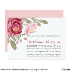 Pink blush floral mint wedding invitations pinterest wedding and pink blush floral mint wedding invitations pinterest wedding and wedding stopboris Image collections
