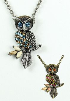 Sample Sale - Wise Owl Necklace