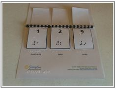 Sensory Sun offers braille support materials for families who don't own expensive braille devices. You can download their braille guides, make your own braille materials (like flip books) or order them pre-made by Sensory Sun.