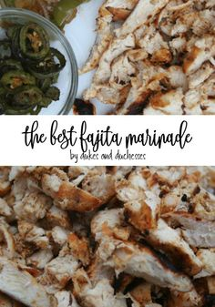 This fajita marinade recipe is simple and delicious and will quickly become a favorite for year-round grilling!