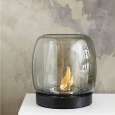 fire + water (glass) /// Kaasa Fire Place ,iittala
