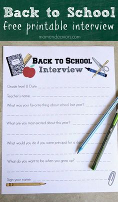 Back to School Inter
