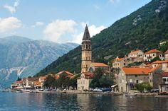 Explore the town of Perast in Montenegro
