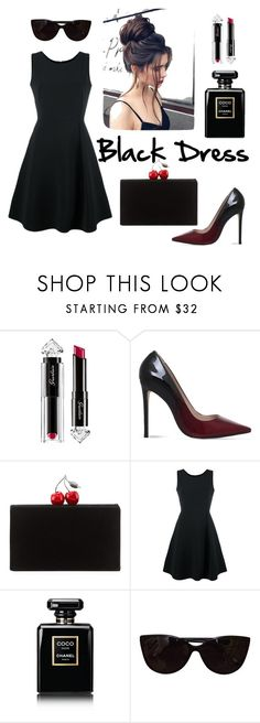 """Без названия #148"" by lesyalife on Polyvore featuring мода, Guerlain, Carvela, Edie Parker, Emporio Armani, Chanel и Tiffany & Co."