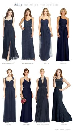 Perfect bridesmaid dress options
