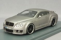 1 43 NEO Model HAMANN Imperator Bentley Continental Mugen GT 2011 Silver #.45700 #NEO #Bentley