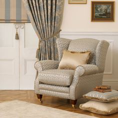 Gain access to the extensive Warwick Fabric collections by logging into your Warwick account or contact us for an account and to access your login. Wingback Chair, Sofa, Neutral Curtains, Chair Leg Floor Protectors, Small Living Room Chairs, Warwick Fabrics, Coastal Style, Drapery, Accent Chairs