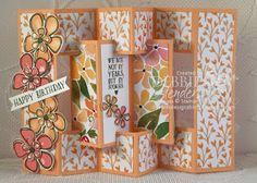 Concertina Card Fold! (Debbie's Designs)