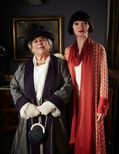 Miss Fisher and Aunt Prudence.