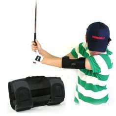 Golf Swing Perfect Made from special ventilated material the golf swing training elbow brace by NSG will help to give you the correct posture for more distance Golf Downswing, Play Golf, Golf Attire, Golf Outfit, Golf Cart Enclosures, Disc Golf Shoes, Golf Swing Training Aids, Golf Academy, Golf Cart Accessories