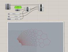 Parametric Architecture, Parametric Design, Architecture Portfolio, Amazing Architecture, Architecture Design, Architecture Diagrams, Polygon Pattern, Hexagon Pattern, Pattern Design