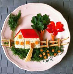 Cute Snacks, Cute Food, Good Food, Finger Foods For Kids, Comida Diy, Amazing Food Art, Food Art For Kids, Creative Food Art, Food Carving