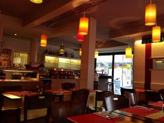 """See 16 photos from 169 visitors about great value, buffet, and casual. """"Great value restaurant. Buffet (lunch & dinner) is food is good and. Conference Room, Bar, Table, Furniture, Home Decor, Decoration Home, Room Decor, Meeting Rooms, Tables"""