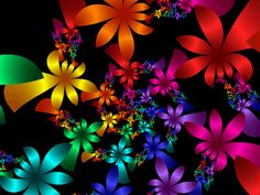 Digital Flowers | Digital Flowers by zukuthegreat on deviantART