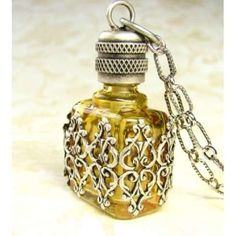 Vintage Perfume Bottle by charlene