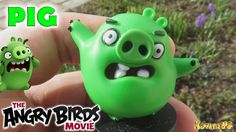 Pig Angry Birds Funny Figure AB Green Pig Toy