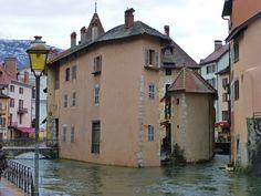 Canales de Annecy, Francia