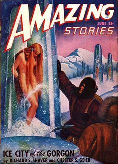 Amazing Stories magazine #Vintage Scifidelic#Vintage #SciFi