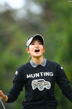 原 英莉花 Golf, Athletic Women, Erika, Asian Woman, Athletes, Female, Sweatshirts, Lady, Sports