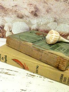Beach Nursery Decor,Nautical Books , Sailing theme by beachbabyblues, $18.00