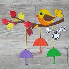 Autumn Crafts, Fall Crafts For Kids, Paper Crafts For Kids, Diy Home Crafts, Diy Arts And Crafts, Summer Crafts, Preschool Crafts, Felt Crafts, Diy For Kids