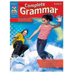 Houghton Mifflin Harcourt Complete Grammar Grade 8 Book
