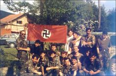 Wars of 1990s. Croatian units. Continuation of the WW2 policies.