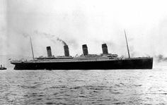 The British passenger liner RMS Titanic leaves from Southampton, England on her maiden voyage, April 10, 1912.Titanic called at Cherbourg, France & Queenstown, Ireland before heading westward toward New York. Four days into the crossing,she hit an iceberg at 11:40 p.m., 375 miles south of Newfoundland. Just before 2:20 am Titanic broke up and sank bow-first with over a thousand people still on board.Those in the water died within minutes from hypothermia caused by immersion in the freezing…