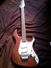 FENDER PERFORMER 6 STRING metallic purple -RARE USED 1986