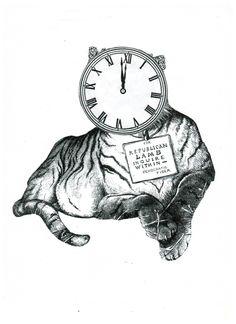 Tigre-reloj