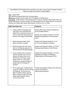 Sample Lesson Plan Format - WOW.com - Image Results