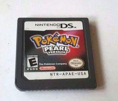 NINTENDO DS DSi Dsl 3DS Game POKEMON PEARL Rpg