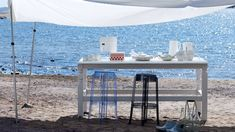 Charles Ghost stool by Philippe Starck | On a Greek island