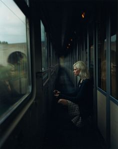 Me on the Hogwarts Express. Photos credits to Jeste