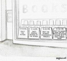 Author humor #WednesdayWriter #wyomingwriters #womenwriterswomensbooks  #AmyKurzweil #NewYorker #amwriting #WednesdayWisdom #writerslife #cartoon