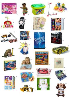Kids gift ideas galore - everything from books to toys to sports. #christmas #giftguide
