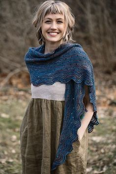Ara Shawl pattern by Andrea Mowry This shawl is currently only available as a part of the A Verb For Keeping Warm Proverbial Shawl club! Record of Knittin. Knit Or Crochet, Crochet Shawl, Crochet Vests, Crochet Cape, Crochet Edgings, Crochet Granny, Crochet Motif, Knitted Shawls, Crochet Scarves